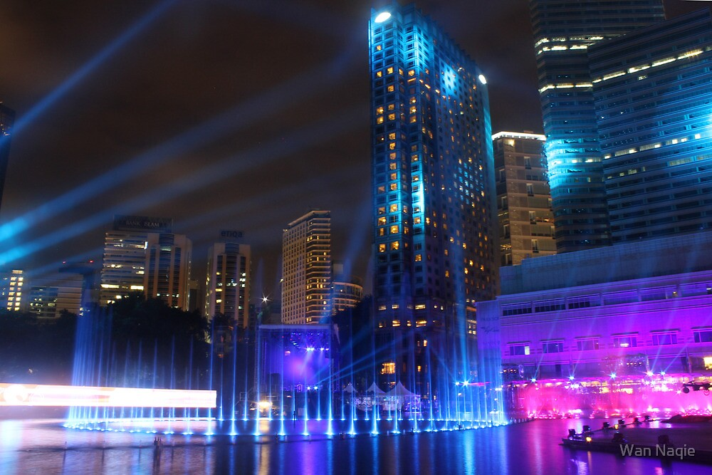 KL International Music & Light Festival 2012 by Wan Naqie