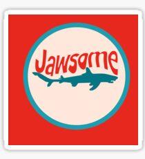 JAWSOME Sticker