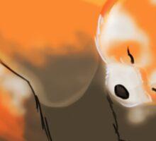 Sleeping Cuties- Red Panda Sticker