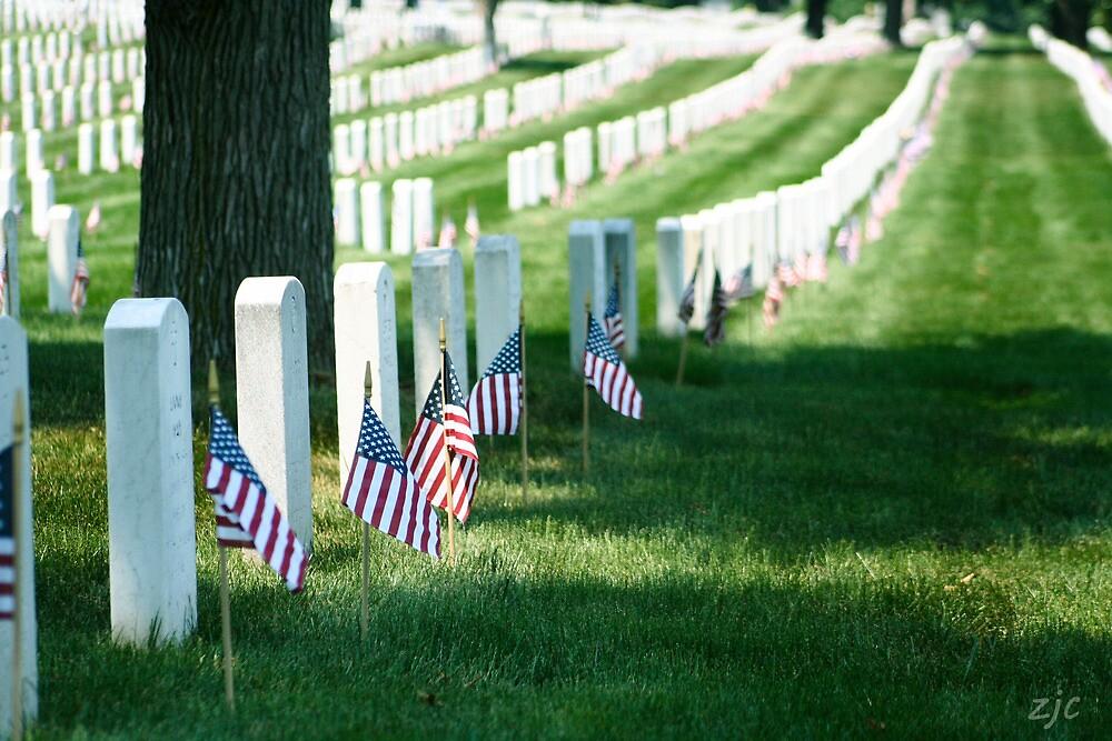 Arlington Cemetery, Memorial Day, 2011 by Zach Chadim
