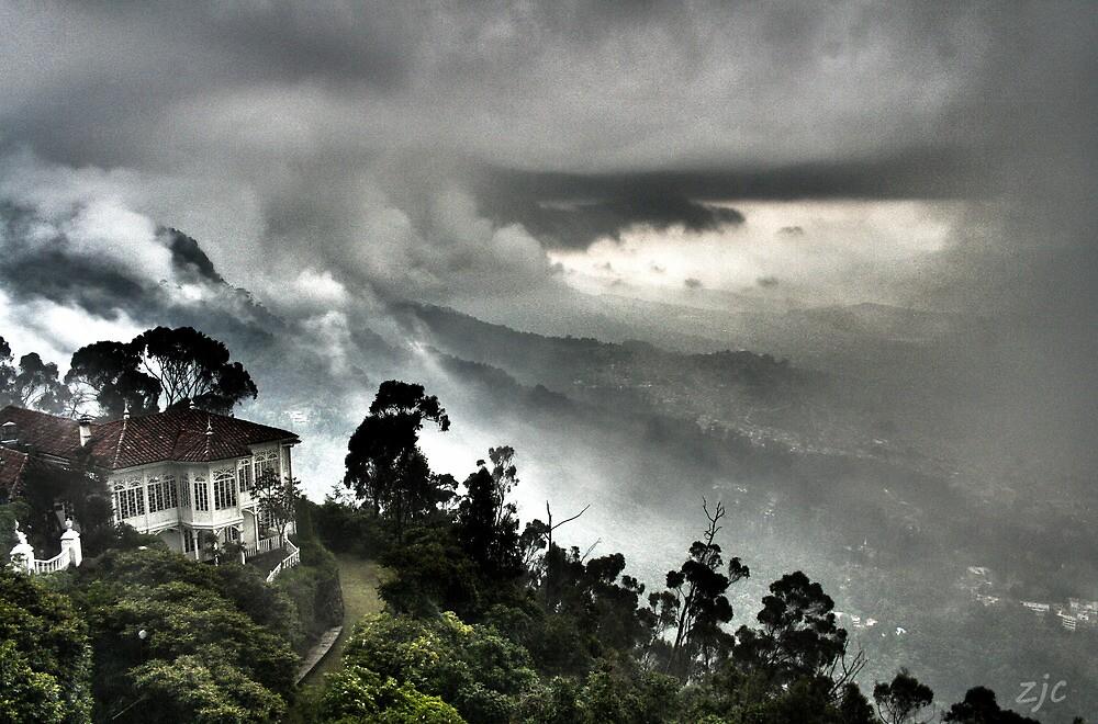 Monserrate, Bogota, Colombia  by Zach Chadim