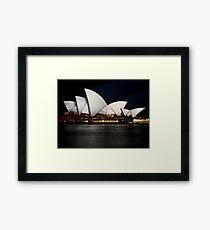 Vivid Opera Framed Print