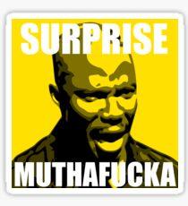 Surprise Mothafucka Sticker
