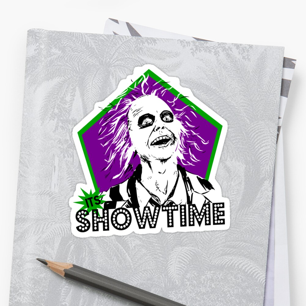 BEETLEJUICE sticker by cmmartinez2