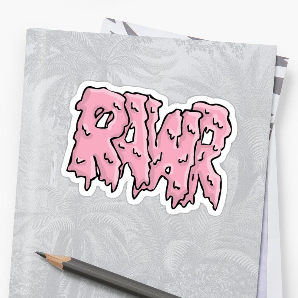 rawr by Missdatapig
