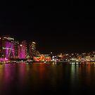 Vivid Sydney  @ Circular Quay by Len  Gunther