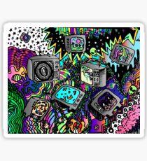 TV doodle  Sticker