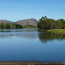 The Ross River, Townsville by Sue Downey