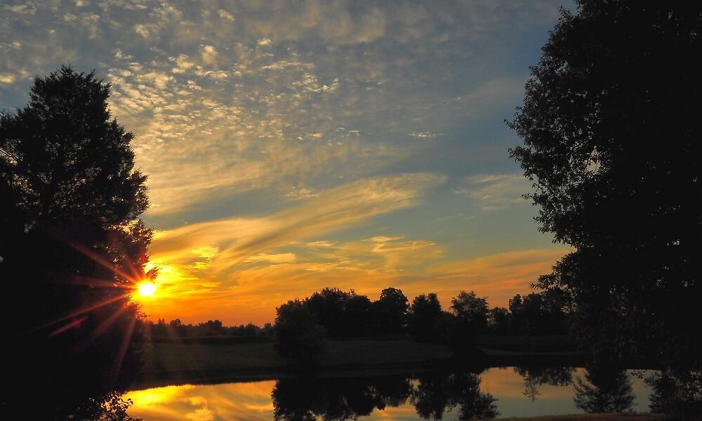 Sunrises Colors by kentuckyblueman