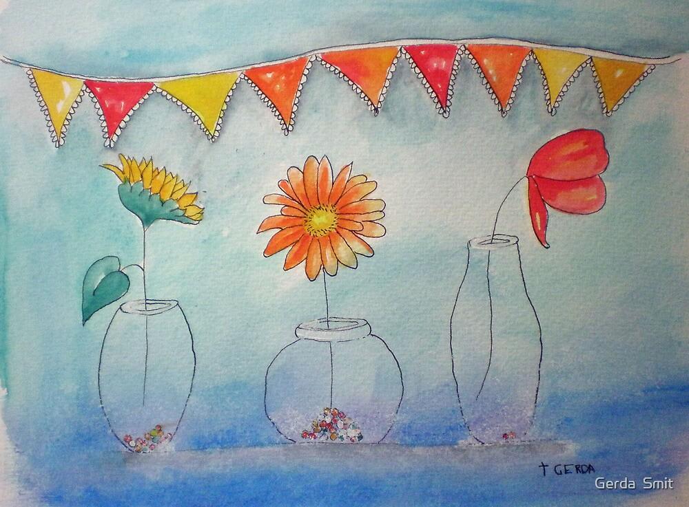 Flowers by Gerda  Smit
