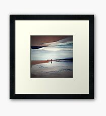 Ghost on the Shore Framed Print