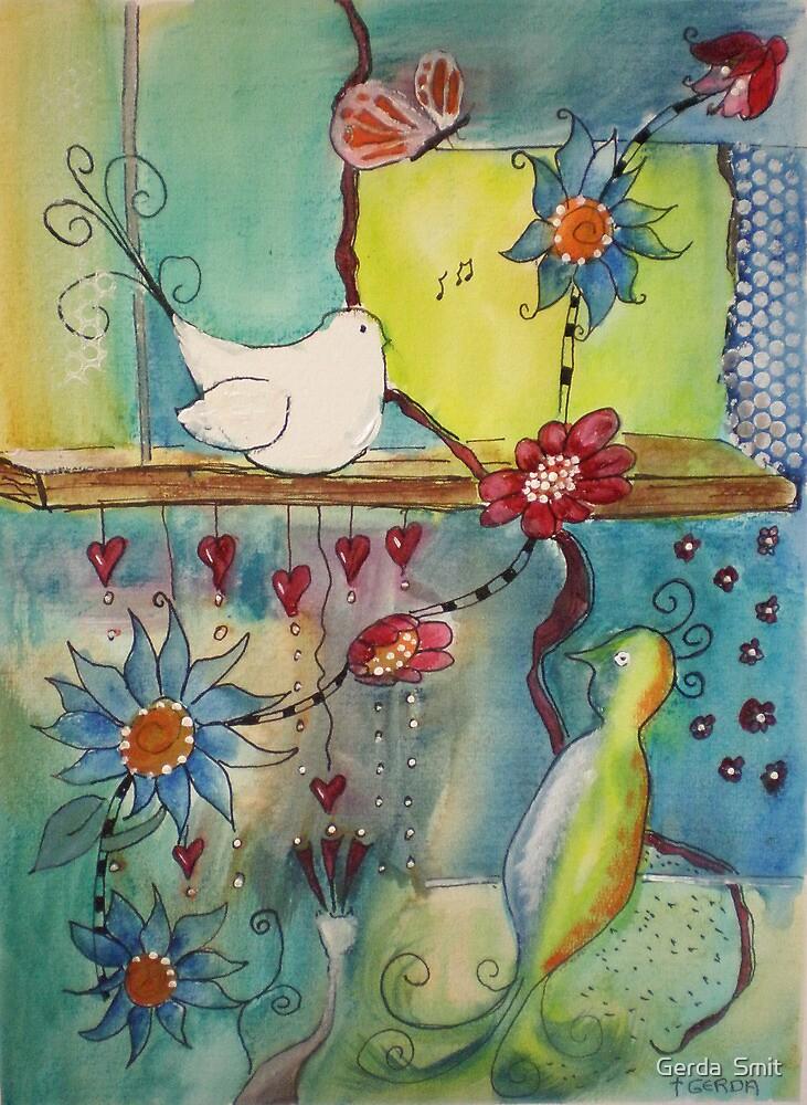 Bird by Gerda  Smit