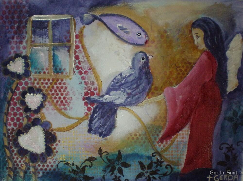 Gentelness by Gerda  Smit