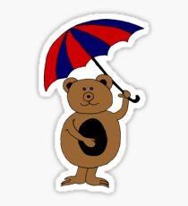 bear 1 Sticker