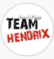 Team Hendrix Sticker Sticker