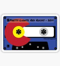 Pretty Lights Red Rocks 2014 Sticker