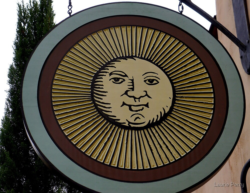 Sunny Sign by Laurie Perry