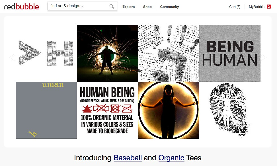 More Human than Human - 10 June 2012 by The RedBubble Homepage