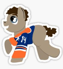 Pony Eberle Sticker