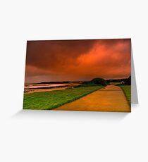 """Storm Path"" Greeting Card"