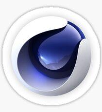 Cinema 4D Logo Sticker