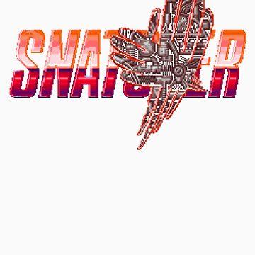 Snatcher Logo - Pixel Glitch by p13t3rm