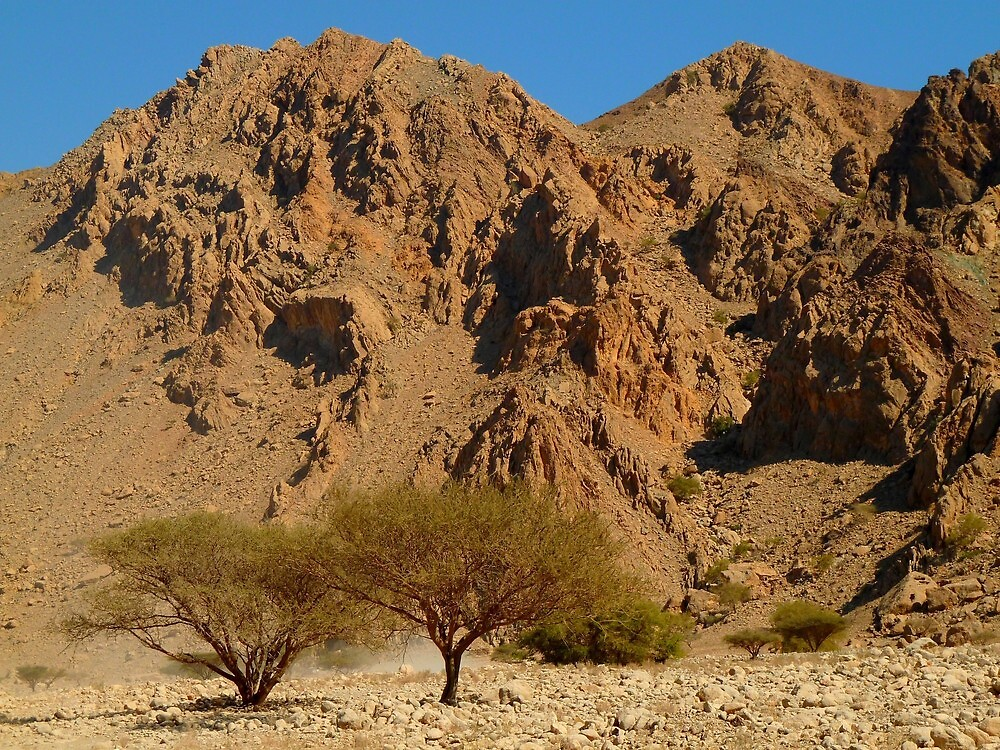 arid mountains by supergold