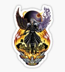 One Winged Angel - Sticker Sticker
