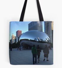 Cloud Gate, Evening, Chicago - Summer 2012 Tote Bag