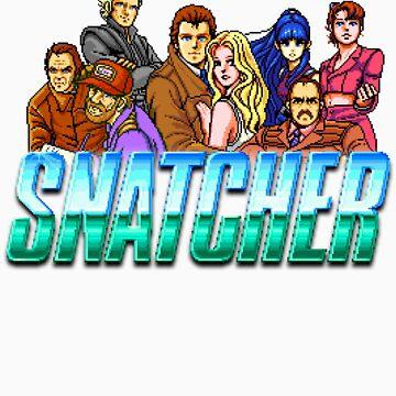 Snatcher Crew - Pixel Glitch by p13t3rm