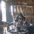 The Blacksmith by Judy Woodman