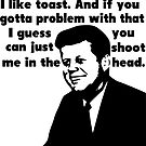 John F. Kennedy's Militant Toast Speech by tommytidalwave