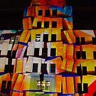 Crumbling Blocks by Alfredo Estrella