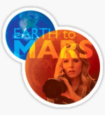 Earth to Mars Sticker