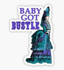 Bustle Sticker Sticker