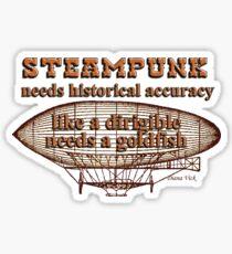 Steampunk Sticker Sticker