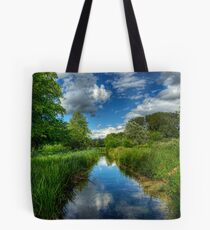 Itchen Reflections - Winchester Tote Bag