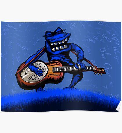Bluegrass Dobro Poster