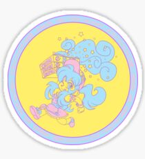 Magical Girl Pizza Delivery Sticker
