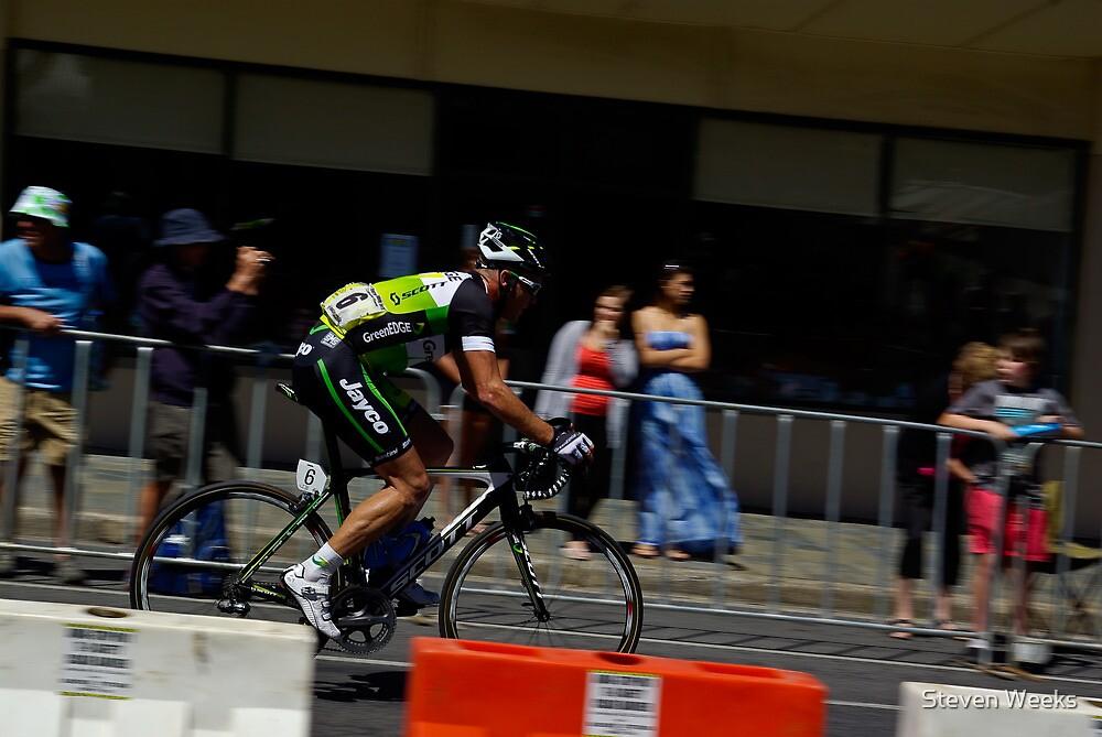Stuart O'Grady, Stage 5, Willunga, Tour Down Under 2012 by Steven Weeks