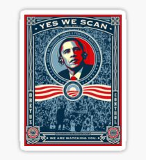 Yes We Scan Sticker
