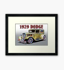 1929 Dodge Hotrod Framed Print