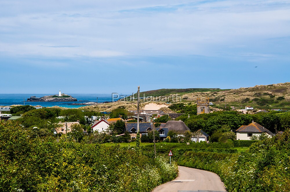 Godrevy Village by Paul Howarth