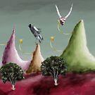 oh dear a landscape by Graham Dean