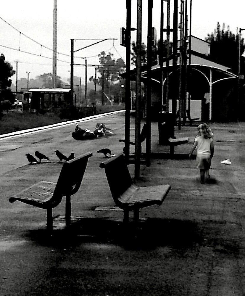 train station by Graham Dean