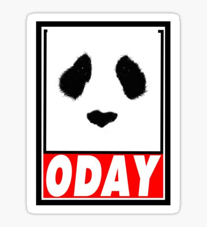 0DAY Sticker
