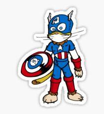 Chatptain Americhat Sticker