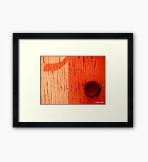 Entry Point Framed Print