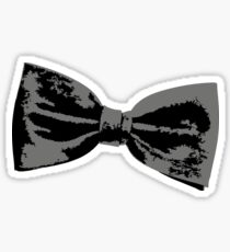 Bow Tie (inclined right) Sticker