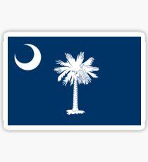 Pegatina Bandera de estado de Carolina del Sur Columbia colcha Camiseta Pegatina